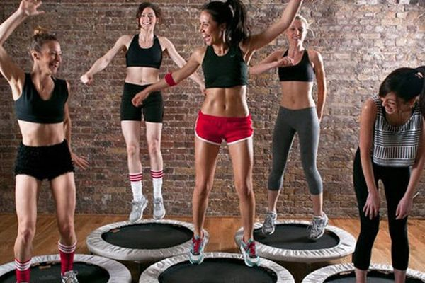 Mini Trampoline Workout Exercises
