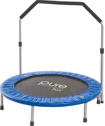 rebounder-for-exercise-mini-trampoline-for-adults-pure-fun-mini-trampoline-with-handrail