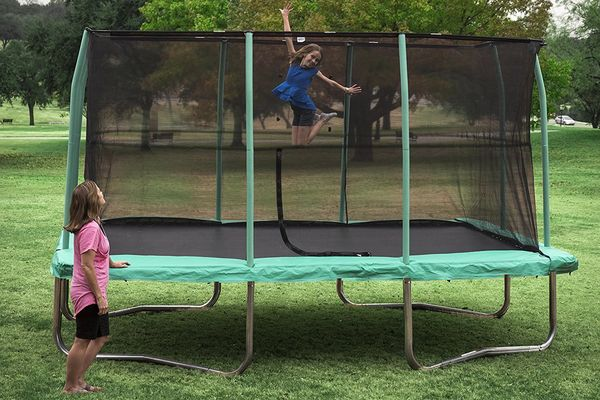 trampoline occasion cheap gallery of aceshin trampoline exterieur enfant mini trampoline. Black Bedroom Furniture Sets. Home Design Ideas