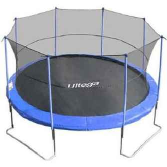 ultega jumper trampoline with-safety net
