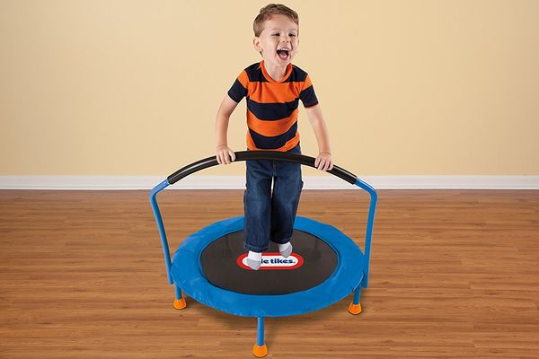 Kids-Trampoline-With-Bar
