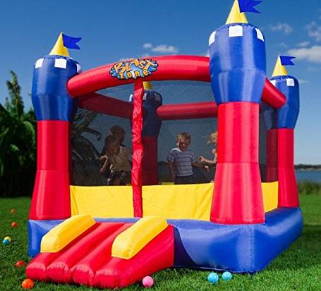 Bouncing-toys-2-year-old-Blast-Zone-Magic-Castle-Inflatable-Bouncer-gettrampoline.com