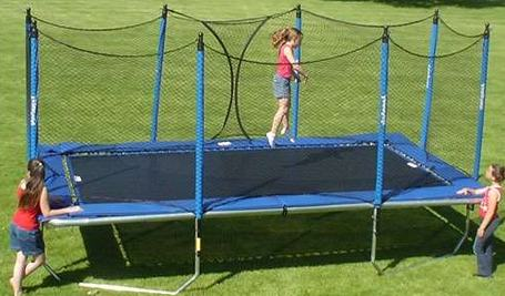 what size is an olympic trampoline
