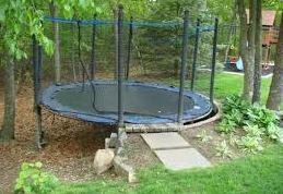 How-to-Set-up-a-Trampoline-on-a-Slope