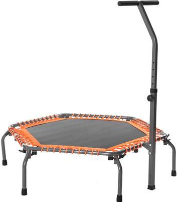 Review-Merax-Exercise-Fitness-Trampoline-Home-Workout-Cardio-Training