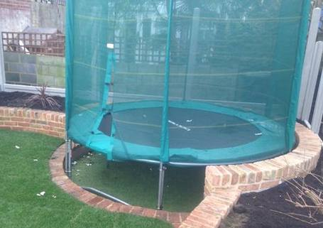artificial-grass-under-trampoline