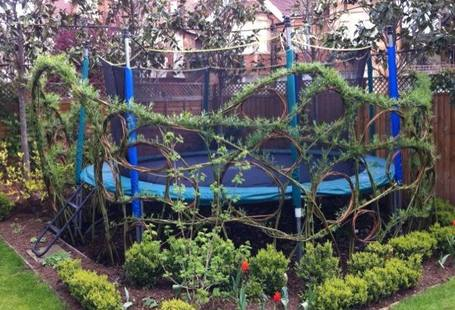 Don T Know What To Do With Space Under A Trampoline