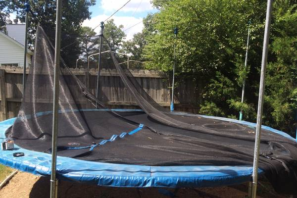 How To Repair a Trampoline - Patch and Net | GetTrampoline.com