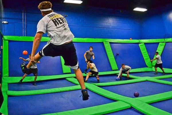 trampoline-dodgeball