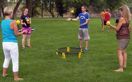 what-is-spikeball-mini-trampoline-game