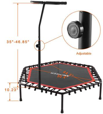 Ancheer-Trampoline-with-bar-review