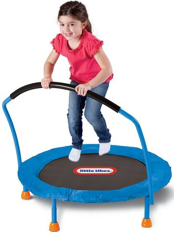 Little-tikes-3-trampoline-review-kid