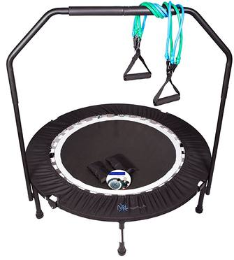 MaXimus-Pro-Gym-Rebounder-Mini-Trampoline-with-handle-bar