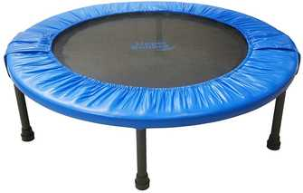 Best-rebounder-under-100-dollars-44-Mini-Foldable-Rebounder-Fitness-Trampoline