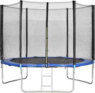 Best-trampoline-under-200- Giantex-Trampoline-With-Safety-Enclosure