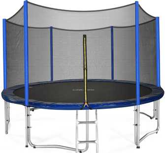 Best-under-400-dollars-Zupapa-15-14-12-FT-TUV-Approved-Trampoline-with-Enclosure-net