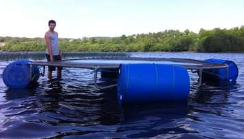 How-to-make-a-homemade-water-trampoline-The-water-trampoline-DIY