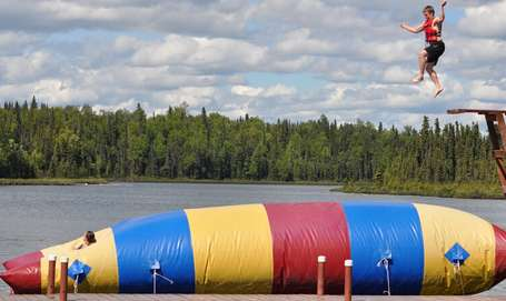 Inflatable-water-blob-trampoline