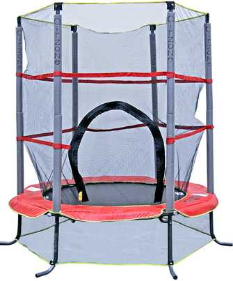 Kids-trampoline-under-100-AirZone-55-Inch-Trampoline-Enclosure