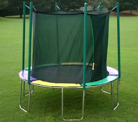 Magic-Circle-12-Ft-Round-Trampoline-With-Safety-Cage