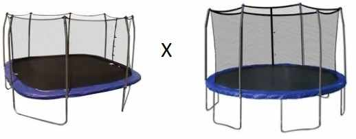 Rectangular-trampoline-vs-round