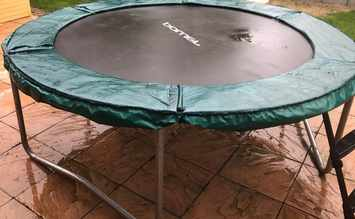 Trampoline-on-concrete-surface
