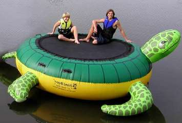 Where can I buy a water trampoline