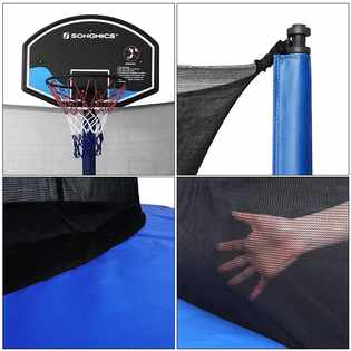 Songmics-Outdoor-Trampoline-Basketball-Hoop