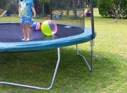 Putting-a-Trampoline-on-Grass