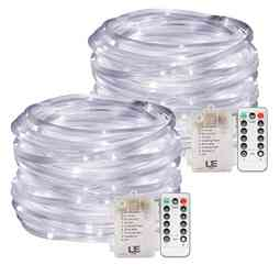 lights-around-the-trampoline-LE-33ft-120-LED-Dimmable-Rope-Lights