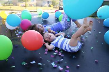 trampoline-party-at-home