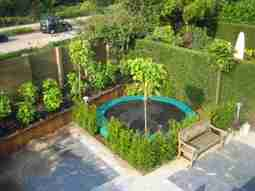 Trampoline Ideas for a Small Garden