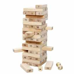Jenga Rules With Dice