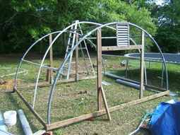 Easy Tips to Build a DIY Trampoline Greenhouse