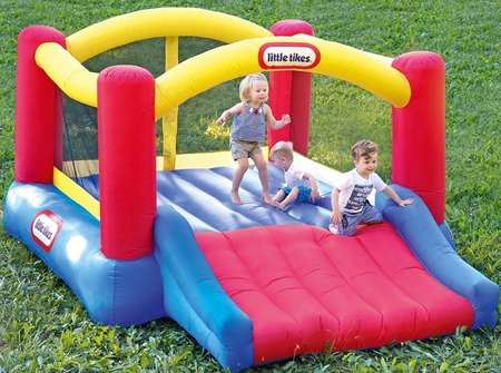 gifts-similar-to-trampoline-Little-Tikes-Jump-n-slide-bounce-house