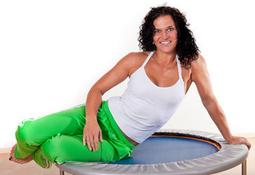 Cellulite rebounding exercise