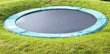 Sunken-Trampoline-Problems