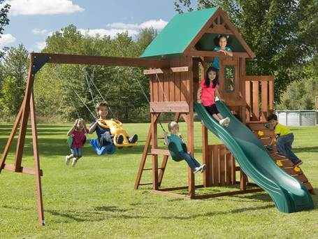 Compare The Best Swing Set Brands Of 2019 Wooden Metal