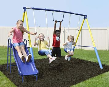 Swing-Set-For-Small-Yards-Sportspower-My-First-Metal-Swing-Set